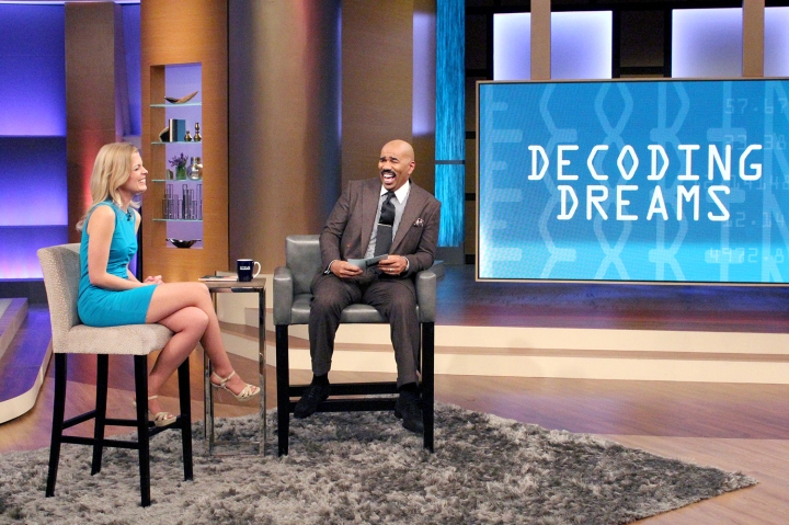 Anna-Karin Bjorklund on the Steve Harvey TV Show, February 1, 2016