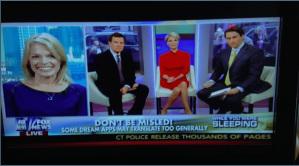 Anna-Karin Bjorklund on Fox and Friends, Fox News